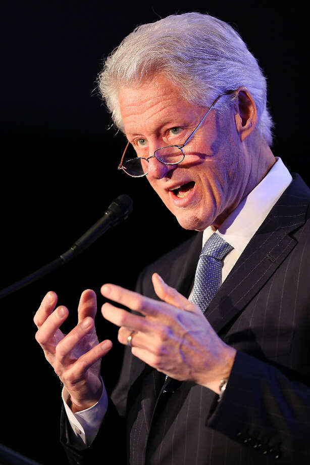 Bill Clinton, the Democratic president who signed the Defense of Marriage Act into law in 1996. Photo: Joe Scarnici / 2013 Getty Images