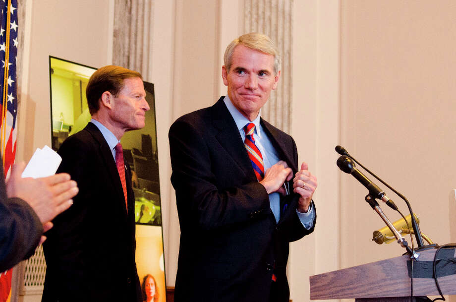 Rob Portman, Indiana Republican, vetted for vice presidency in 2012 by GOP presidential nominee Mitt Romney. Photo: Kris Connor, Getty Images / 2012 Kris Connor