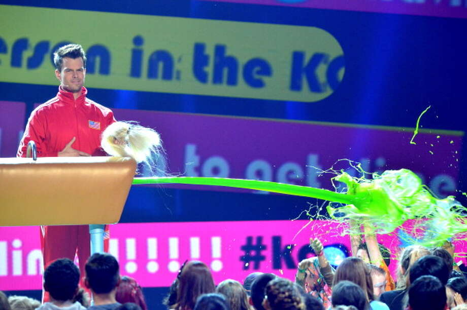LOS ANGELES, CA - MARCH 23:  Host Josh Duhamel performs during Nickelodeon's 26th Annual Kids' Choice Awards at USC Galen Center on March 23, 2013 in Los Angeles, California.  (Photo by Lester Cohen/WireImage) Photo: Lester Cohen, WireImage / Getty Images