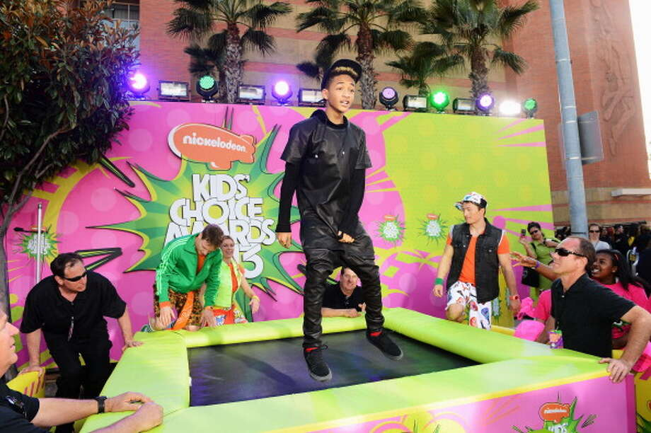 LOS ANGELES, CA - MARCH 23:  Actor Jaden Smith arrives at Nickelodeon's 26th Annual Kids' Choice Awards at USC Galen Center on March 23, 2013 in Los Angeles, California.  (Photo by Mark Davis/Getty Images for KCA) Photo: Mark Davis, Getty Images For KCA / Getty Images