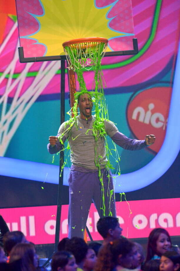 LOS ANGELES, CA - MARCH 23:  NBA player Dwight Howard performs during Nickelodeon's 26th Annual Kids' Choice Awards at USC Galen Center on March 23, 2013 in Los Angeles, California.  (Photo by Lester Cohen/WireImage) Photo: Lester Cohen, WireImage / Getty Images