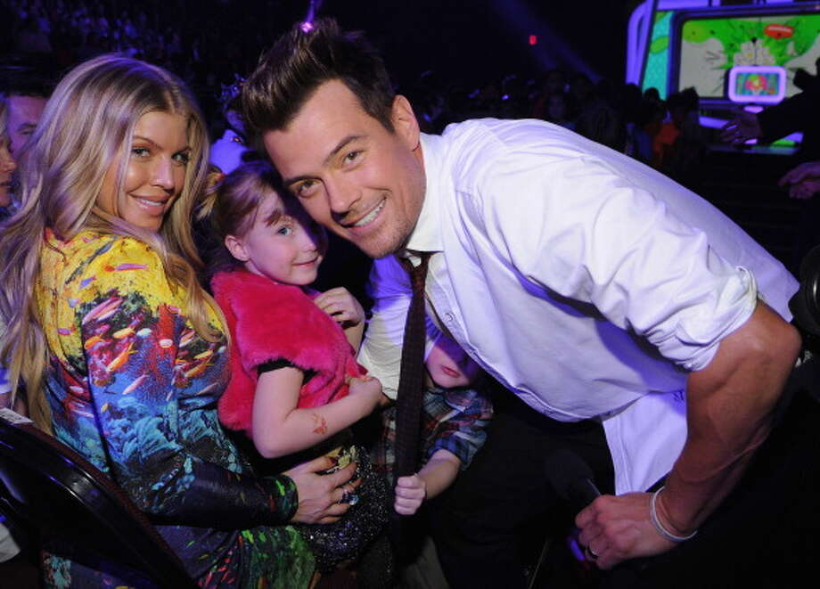 LOS ANGELES, CA - MARCH 23:  Singer Fergie (L) and host Josh Duhamel attend Nickelodeon's 26th Annual Kids' Choice Awards at USC Galen Center on March 23, 2013 in Los Angeles, California.  (Photo by Kevin Mazur/KCA2013/WireImage) Photo: Kevin Mazur/KCA2013, WireImage / Getty Images