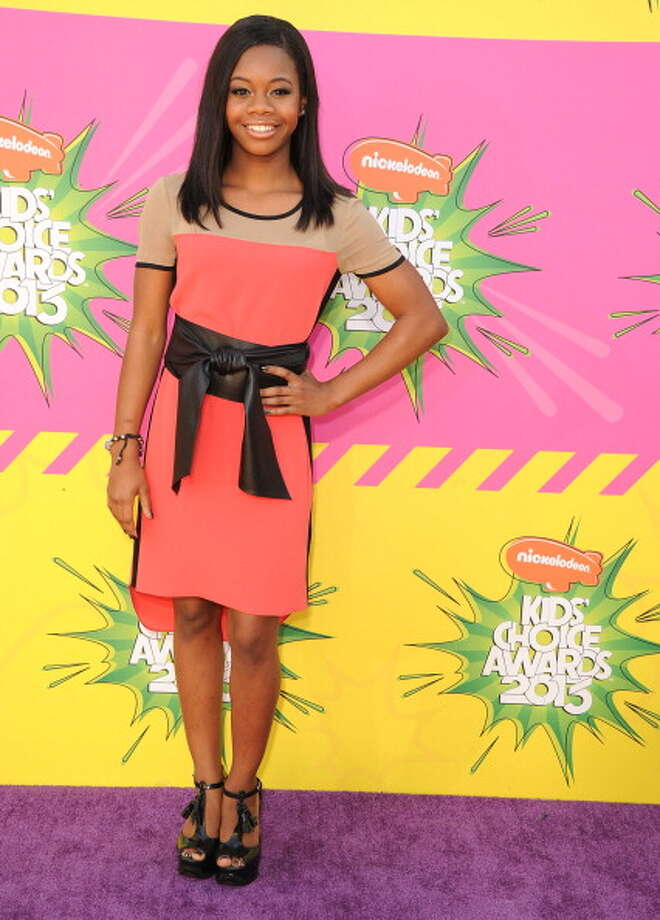 LOS ANGELES, CA - MARCH 23:  Gabby Douglas arrives at the Nickelodeon's 26th Annual Kids' Choice Awards at USC Galen Center on March 23, 2013 in Los Angeles, California.  (Photo by Steve Granitz/WireImage) Photo: Steve Granitz, WireImage / Getty Images
