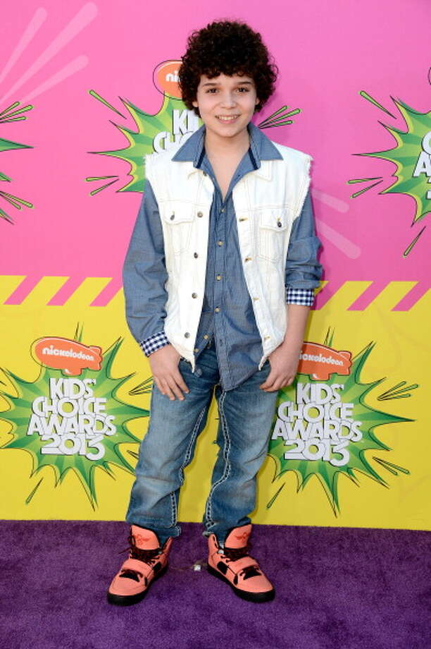 LOS ANGELES, CA - MARCH 23:  Actor Cameron Ocasio arrives at Nickelodeon's 26th Annual Kids' Choice Awards at USC Galen Center on March 23, 2013 in Los Angeles, California.  (Photo by Frazer Harrison/Getty Images) Photo: Frazer Harrison, Getty Images / Getty Images