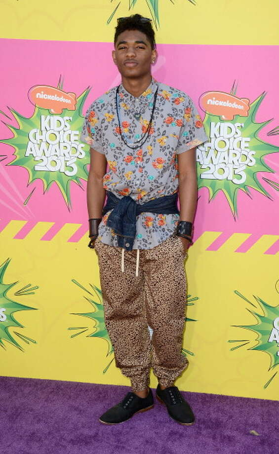LOS ANGELES, CA - MARCH 23:  Actor Nadji Jeter arrives at Nickelodeon's 26th Annual Kids' Choice Awards at USC Galen Center on March 23, 2013 in Los Angeles, California.  (Photo by Frazer Harrison/Getty Images) Photo: Frazer Harrison, Getty Images / Getty Images