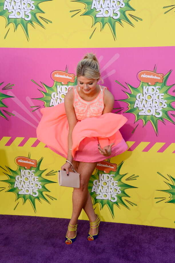 LOS ANGELES, CA - MARCH 23:  Actress Stefanie Scott arrives at Nickelodeon's 26th Annual Kids' Choice Awards at USC Galen Center on March 23, 2013 in Los Angeles, California.  (Photo by Frazer Harrison/Getty Images for KCA) Photo: Frazer Harrison, Getty Images For KCA / Getty Images