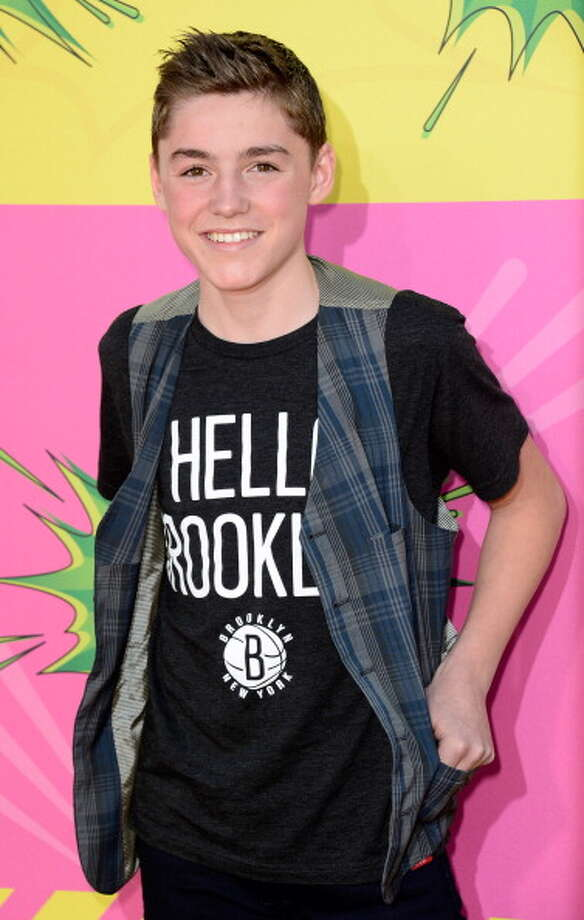 LOS ANGELES, CA - MARCH 23:  Actor Spencer List arrives at Nickelodeon's 26th Annual Kids' Choice Awards at USC Galen Center on March 23, 2013 in Los Angeles, California.  (Photo by Frazer Harrison/Getty Images for KCA) Photo: Frazer Harrison, Getty Images For KCA / Getty Images