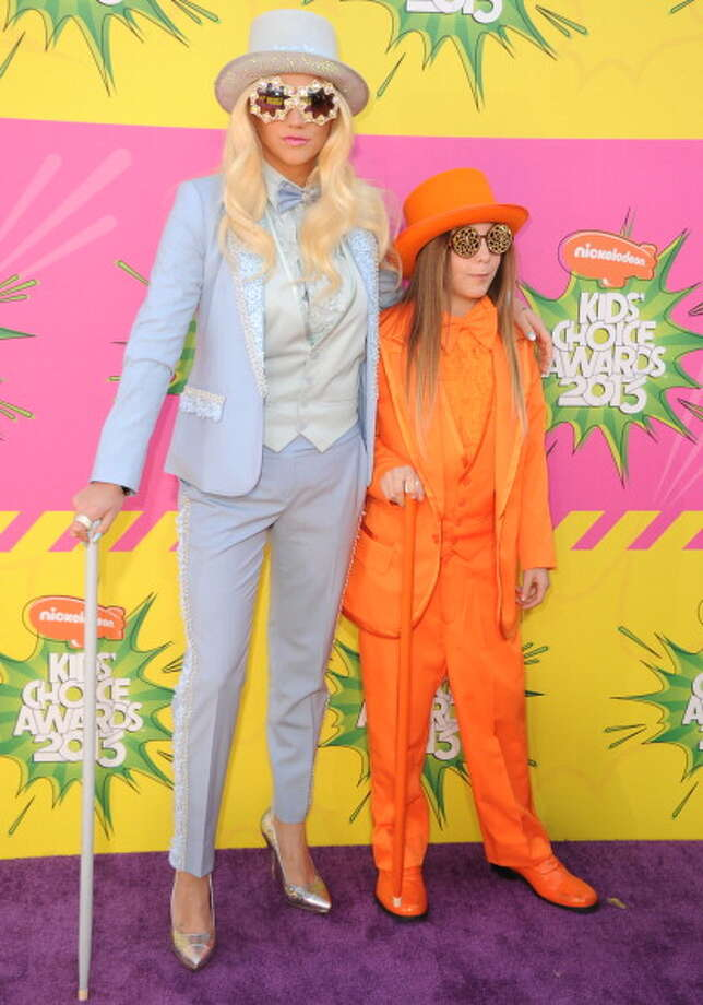 LOS ANGELES, CA - MARCH 23:  Ke$ha and Louie Sebert arrives at the Nickelodeon's 26th Annual Kids' Choice Awards at USC Galen Center on March 23, 2013 in Los Angeles, California.  (Photo by Steve Granitz/WireImage) Photo: Steve Granitz, WireImage / Getty Images