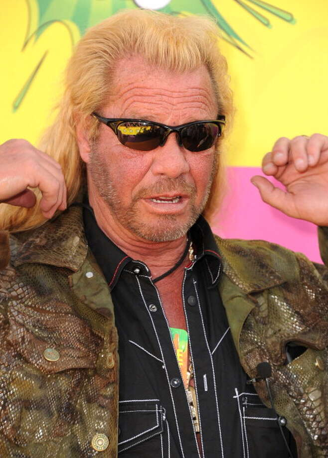 LOS ANGELES, CA - MARCH 23:  Duane Chapman, aka Dog the Bounty Hunter arrives at the Nickelodeon's 26th Annual Kids' Choice Awards at USC Galen Center on March 23, 2013 in Los Angeles, California.  (Photo by Steve Granitz/WireImage) Photo: Steve Granitz, WireImage / Getty Images