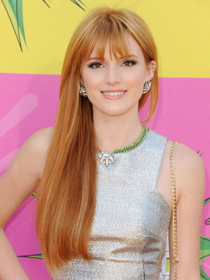 LOS ANGELES, CA - MARCH 23:  Actress Bella Thorne arrives at Nickelodeon's 26th Annual Kids' Choice Awards at USC Galen Center on March 23, 2013 in Los Angeles, California.  (Photo by Jon Kopaloff/FilmMagic) Photo: Jon Kopaloff, FilmMagic / Getty Images