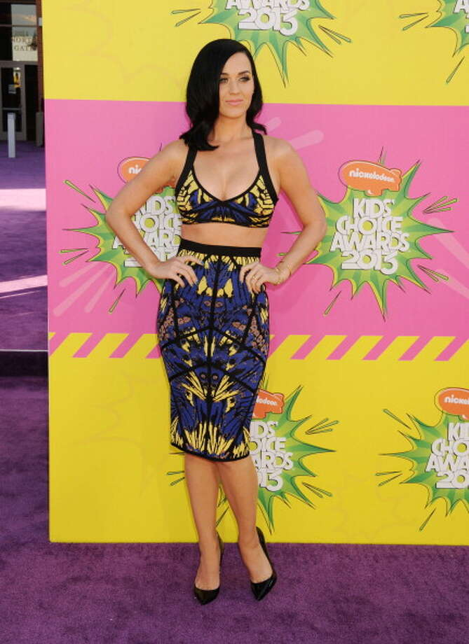 LOS ANGELES, CA - MARCH 23: Singer Katy Perry arrives at Nickelodeon's 26th Annual Kids' Choice Awards at USC Galen Center on March 23, 2013 in Los Angeles, California. (Photo by Jeffrey Mayer/WireImage) Photo: Jeffrey Mayer, WireImage / Getty Images