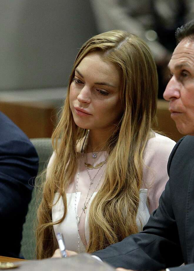 Actress Lindsay Lohan at a hearing in Los Angeles Superior Court Monday, March 18, 2013. Photo: AP