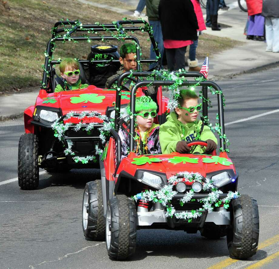 Danbury's St. Patrick's Day Parade and Danbury Whalers Commissioner's Cup victory celebration Sunday, March 24, 2013 in Conn. Photo: Michael Duffy / The News-Times