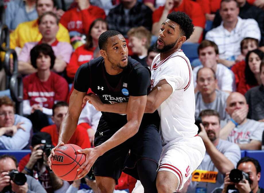 DAYTON, OH - MARCH 24: Christian Watford #2 of the Indiana Hoosiers defends Rahlir Hollis-Jefferson #32 of the Temple Owls in the second half during the third round of the 2013 NCAA Men's Basketball Tournament at UD Arena on March 24, 2013 in Dayton, Ohio. Photo: Joe Robbins, Getty Images / 2013 Getty Images