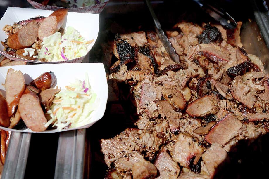 Meat from The Brisket House. Photo: Thomas B. Shea, For The Chronicle / © 2013 Thomas B. Shea