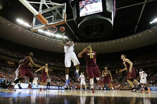 AUSTIN, TX - MARCH 24:  Casey Prather #24 of the Florida Gators shoots against the Minnesota Golden Gophers in the first half during the third round of the 2013 NCAA Men's Basketball Tournament at The Frank Erwin Center on March 24, 2013 in Austin, Texas. Photo: Ronald Martinez, Getty Images / 2013 Getty Images