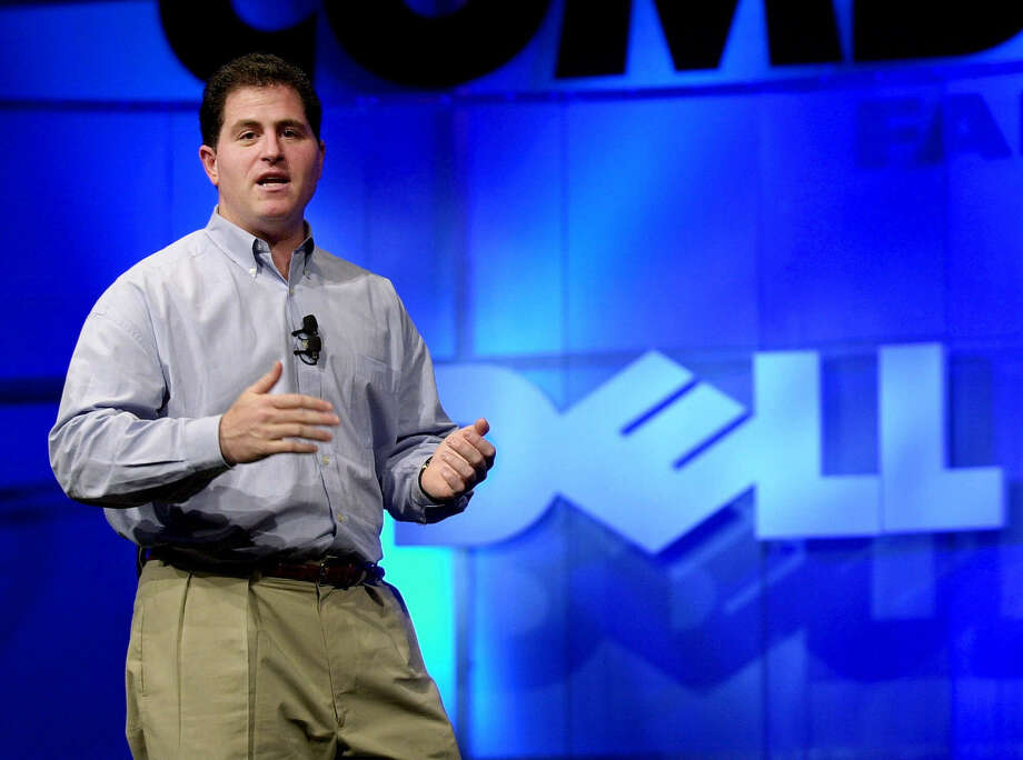 Michael Dell's offer is criticized by fellow shareholders as too low and one in which they can't remain invested in the computer company to profit if its fortunes rebound. Photo: Associated Press File Photo