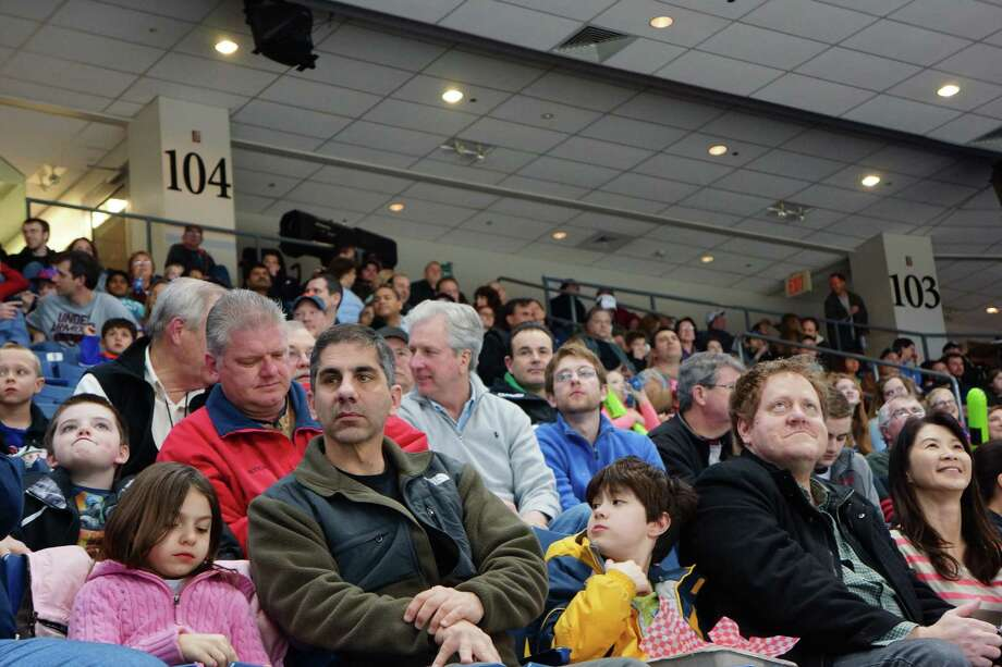 Were you SEEN at the Sound Tigers Sunday afternoon? Webster Bank Arena Bridgeport 3/24/2013 Photo: Todd Tracy/ Hearst Connecticut Media Group