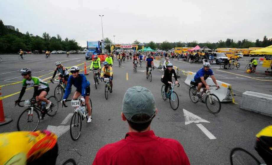 Think this also looks like fun. (STP, or Seattle-to-Portland Bicycle Classic, a 202-mile ride).
