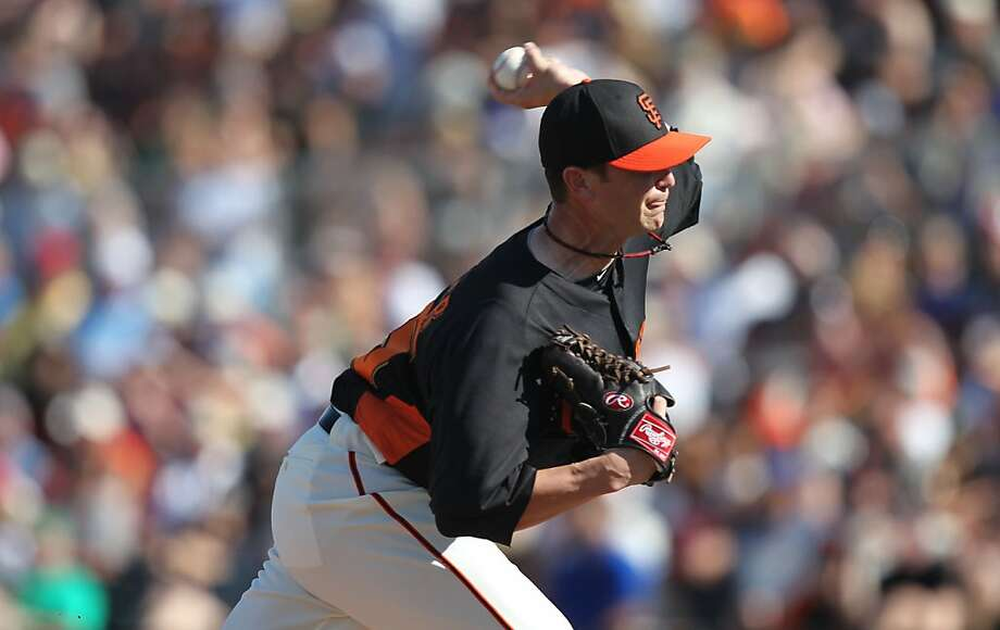 Dan Runzler had pitched well in most of his early appearances, but struggled in his past two. Photo: Lance Iversen, The Chronicle