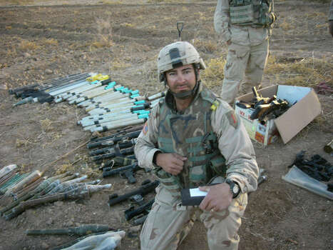 Shilo Harris was severely wounded in an explosion in Iraq.