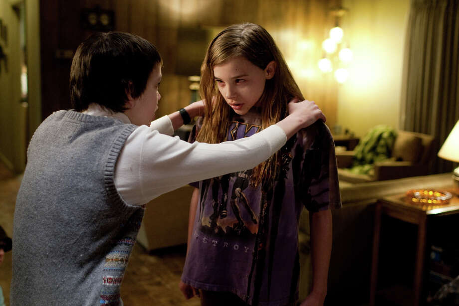 """Let Me in"" (2010)  A worthy English-language version of the 2007 Swedish hit, it's one of the few recent vampire movies that seems to care at all about the rules."" Fine performances by both young leads, Kodi Smit-McPhee (""The Road"") and rising  star Chloë Grace Moretz (""Kick-Ass""). Photo: Saeed Adyani, AP / Overture Films"