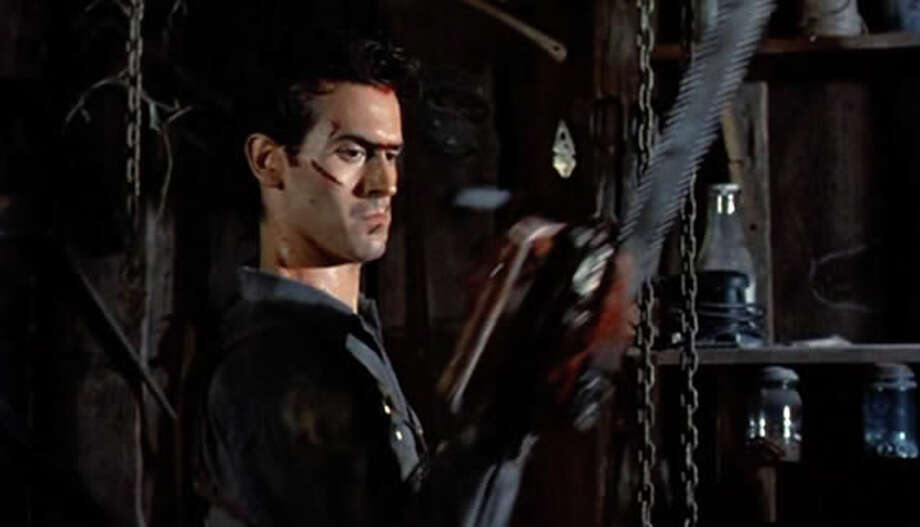 """Evil Dead 2""  (1987)  More  of a reboot than a sequel to Sam Raimi's 1981 Evil Dead. Same  cabin, same guy,  different story. If only Ash (Bruce Campbell's character in Raimi's three films) had  been in the latest."