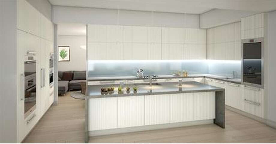 New, clean and modern kitchen
