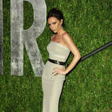 Fashion designer Victoria Beckham arrives at the 2012 Vanity Fair Oscar Party hosted by Graydon Carter at Sunset Tower on February 26, 2012 in West Hollywood, California. suggested by drimblewedge)