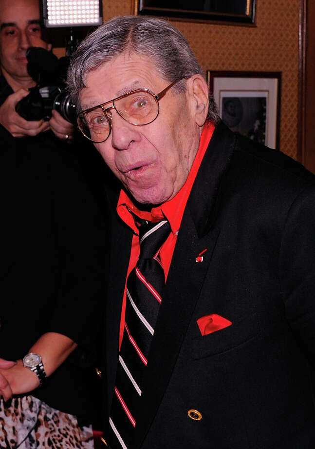Jerry Lewis attends his 86th Birthday celebration after party at New York Friars Club on March 16, 2012 in New York City. (suggested by arye) Photo: Andrew H. Walker, Getty Images / 2012 Getty Images