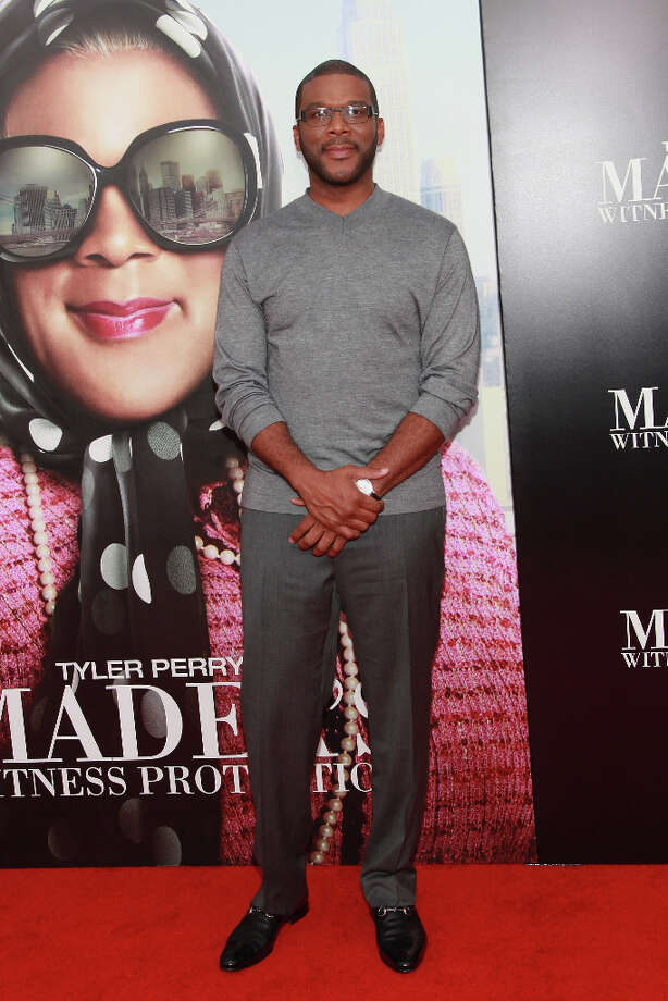 Director Tyler Perry attends Tyler Perry's Madea's Witness Protection New York Premiere at AMC Lincoln Square Theater on June 25, 2012 in New York City. (suggested by drimblewedge) Photo: Taylor Hill, FilmMagic / 2012 Taylor Hill