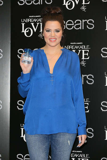 Khloe Kardashian launches Unbreakable Love Fragrance at Sears on February 8, 2013 in Downey, California. (suggested by a number of people in a blanket rejection of anything Kardashian) Photo: Joe Scarnici, WireImage / 2013 Joe Scarnici