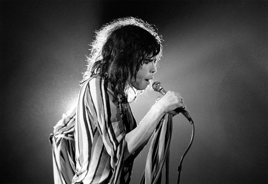 The Aerosmith frontman turns 65 on March 26, 2013. Here is a look back.Steven Tyler from Aerosmith performs live on stage at the Sports Arena in San Diego in December 1975. Photo: Fin Costello, Getty Images / Redferns