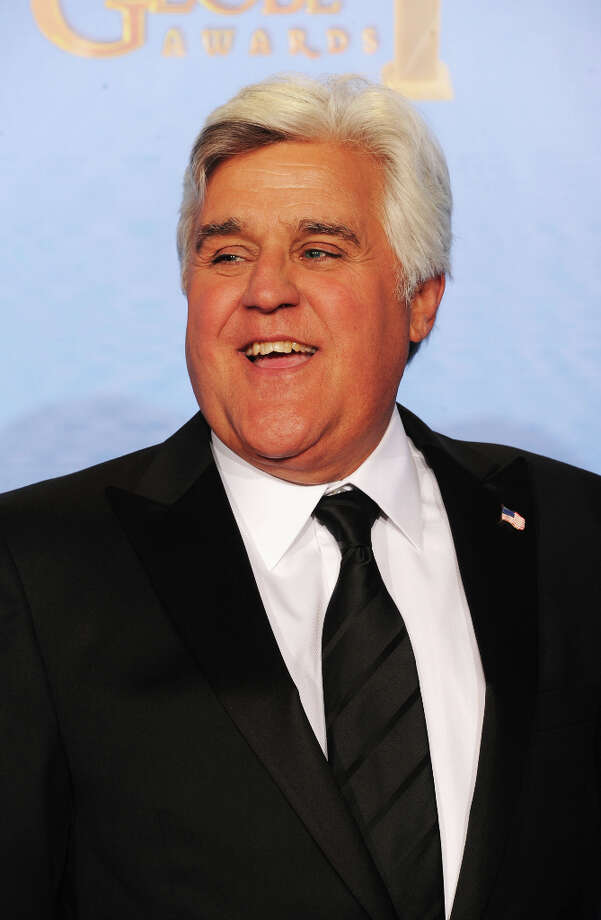 TV personality Jay Leno poses in the press room during the 70th Annual Golden Globe Awards held at The Beverly Hilton Hotel on January 13, 2013 in Beverly Hills, California. (suggested by drimblewedge) Photo: Kevin Winter, Getty Images / 2013 Getty Images