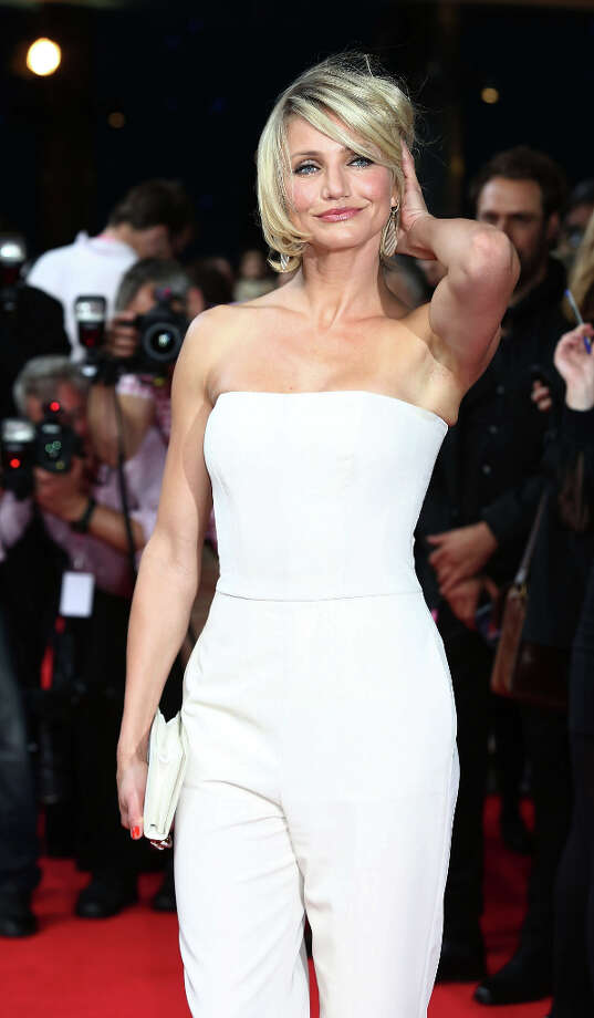 Cameron Diaz attends the UK film premiere of 'What To Expect When You're Expecting' at BFI IMAX on May 22, 2012 in London, England. (suggested by reystjohn) Photo: Tim Whitby, Getty Images / 2012 Getty Images