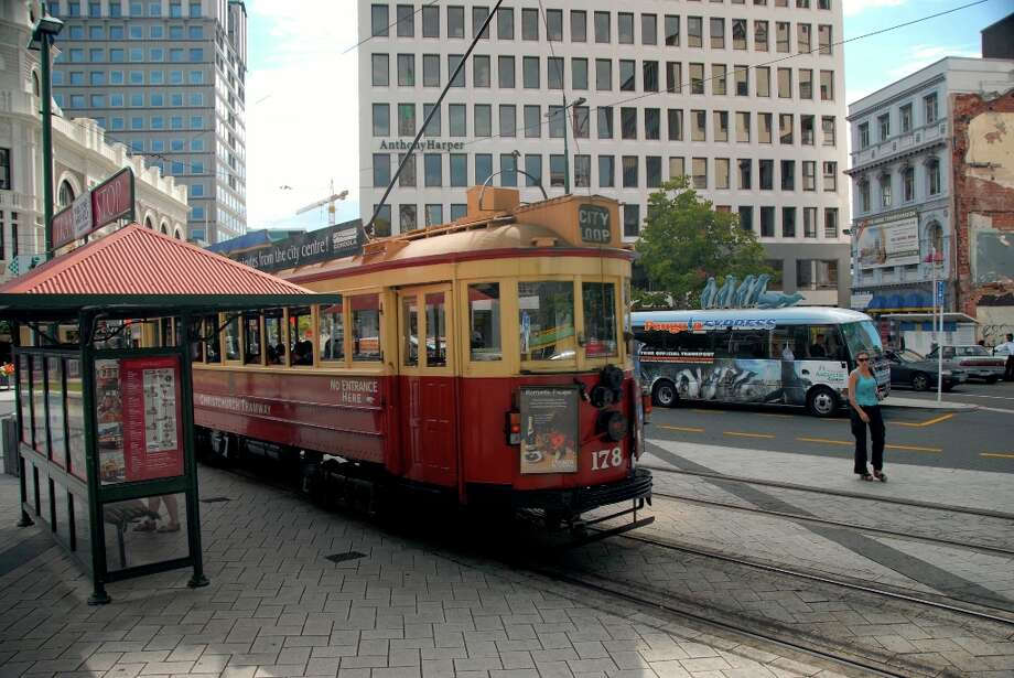 The Christchurch Tram, seen here before the devastating February 2011 earthquake, is expected to reopen in mid-2013.