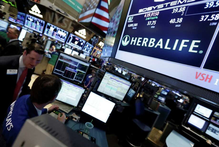 HerbalifeActivist investor Bill Ackman has shorted 20 million shares of Herbalife on the bet that it's actually a pyramid scheme, not a real company. The firm thinks he's wrong, of course, but this is an existential struggle for Herbalife. Photo: Richard Drew, AP / AP