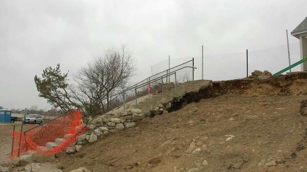 Enclave At Westport >> Wave of post-Sandy repairs at Burying Hill Beach - Westport News