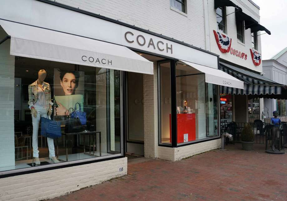 Coach will close its Westport store at 155 Main St. at the end of April, according to store manager Nina Velez. A women's clothing store, Madewell, is set to take its place. Photo: Paul Schott / Westport News
