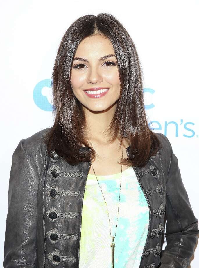 Victoria Justice visits The Ryan Seacrest Foundation West Coast Debut Of New Multi-Media Broadcast Center Seacrest Studios  at CHOC Children's Hospital on March 22, 2013 in Orange, California. Photo: JB Lacroix, WireImage / 2013 JB Lacroix
