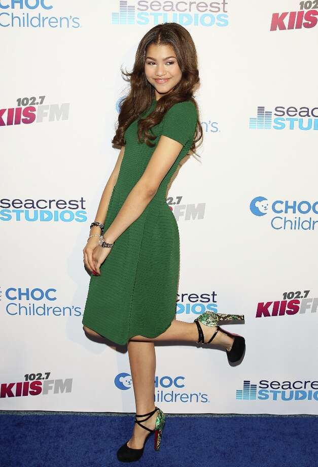 Zendaya Coleman visits The Ryan Seacrest Foundation West Coast Debut Of New Multi-Media Broadcast Center Seacrest Studios  at CHOC Children's Hospital on March 22, 2013 in Orange, California. Photo: JB Lacroix, WireImage / 2013 JB Lacroix