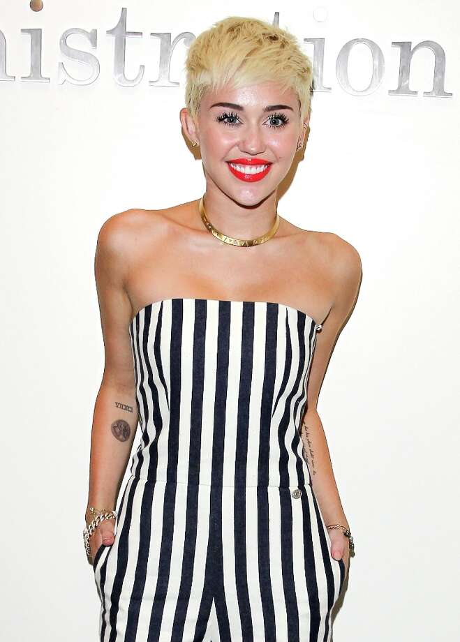 Miley Cyrus visits The Ryan Seacrest Foundation West Coast Debut Of New Multi-Media Broadcast Center Seacrest Studios  at CHOC Children's Hospital on March 22, 2013 in Orange, California. Photo: JB Lacroix, WireImage / 2013 JB Lacroix