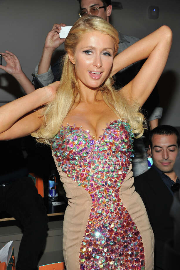 Paris Hilton attends the The Blonds show during Spring 2013 Mercedes-Benz Fashion Week at Milk Studios on September 11, 2012 in New York City. (suggested by whiterabbit) Photo: Theo Wargo, WireImage / 2012 WireImage