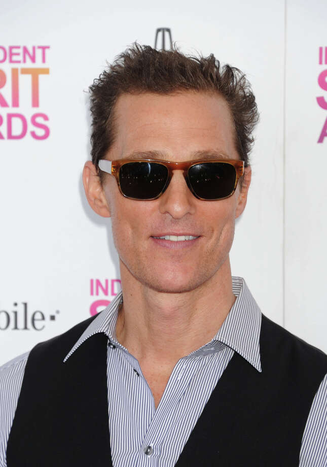 Actor Matthew McConaughey attends the 2013 Film Independent Spirit Awards at Santa Monica Beach on February 23, 2013 in Santa Monica, California. (suggested by elyrest) Photo: Jeffrey Mayer, WireImage / 2013 Jeffrey Mayer