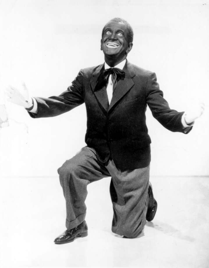 circa 1935:  Al Jolson, the American singer, actor and film star, who specialised in musicals and wore blackface in many films. (suggested by arye) Photo: Hulton Archive, Getty Images / Hulton Archive