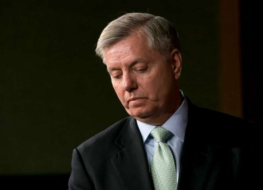 Lindsay Graham, suggested by suryavarman.  The second person named Lindsay on this list.
