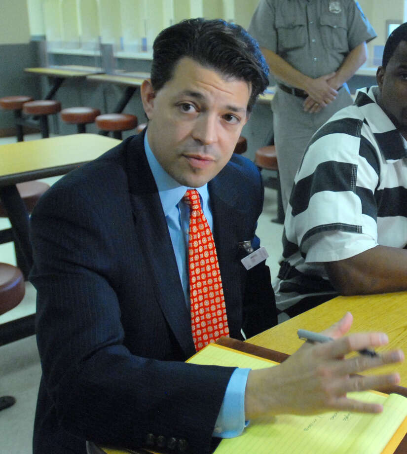 David Ehrlich Monday Nov. 9, 2009, at Albany County Correctional Facility in Latham, N.Y. Ehrlich was disbarred and faces federal fraud and obstruction of justice charges. (Philip Kamrass / Times Union)