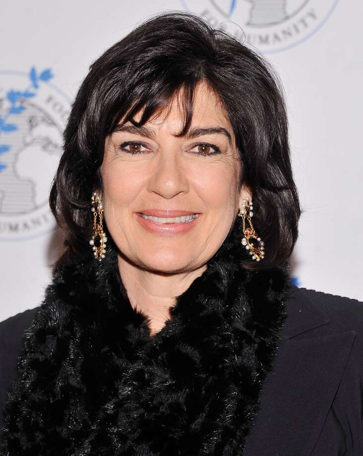 Christiane Amanpour -- WHY? -- suggested by teddylee. (I think she's pretty great.)