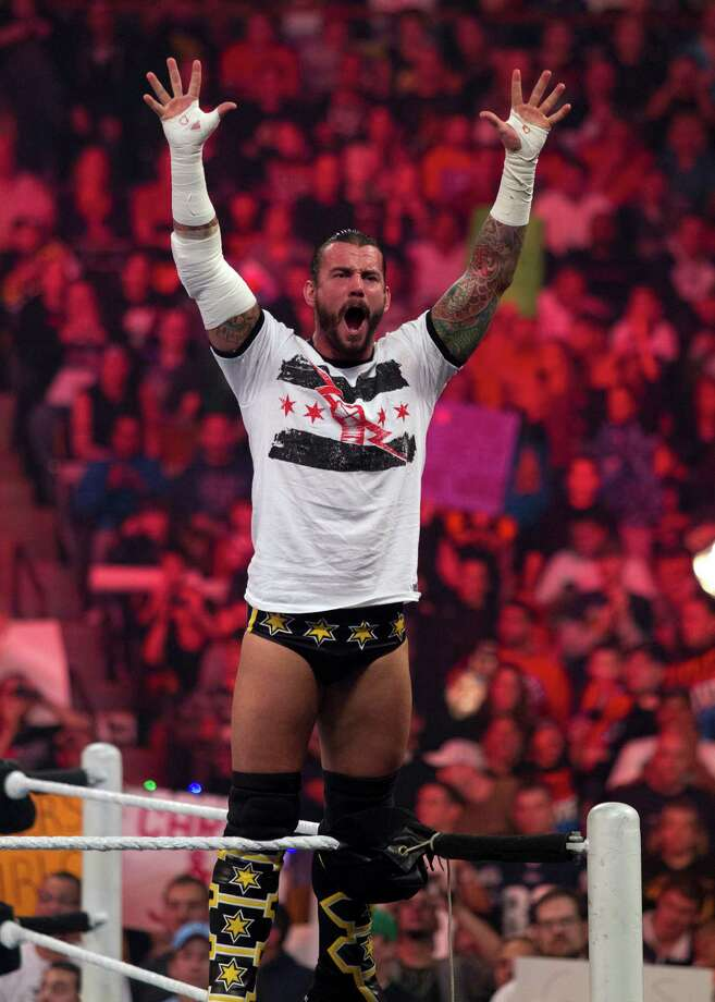 WWE star CM Punk is a huge comic book fan.  Photo: WWE