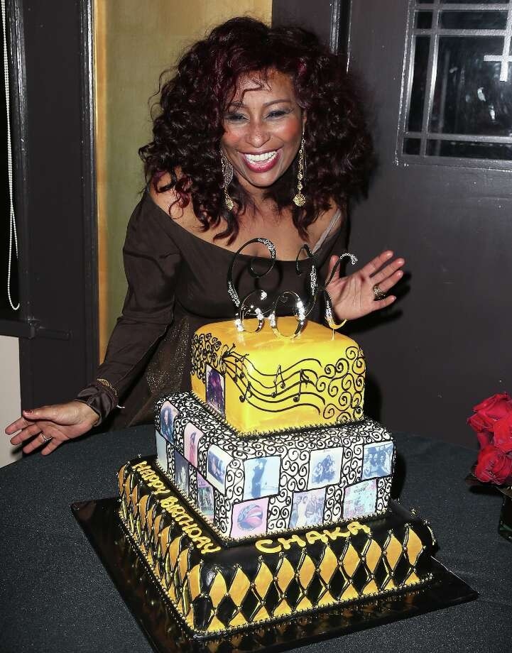 Recording artist Chaka Khan attends her 60th birthday party at Yamashiro Restaurant on March 21, 2013 in Los Angeles, California. Photo: David Livingston, Getty Images / 2013 David Livingston